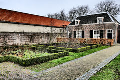 Hofje of Pauw. Royalty Free Stock Photo
