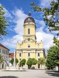 Hofkirche在Neuburg,德国 库存图片