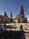 Hofkirche Royalty Free Stock Image