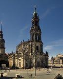 Hofkirche Stock Photography