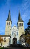 Hofkirche church Stock Photography