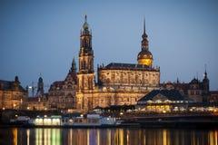 Hofkirche Dresden Imagen de archivo libre de regalías