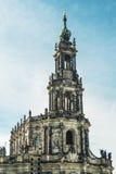 Hofkirche Dresden Foto de archivo libre de regalías