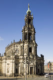 The hofkirche in Dresden Royalty Free Stock Photography
