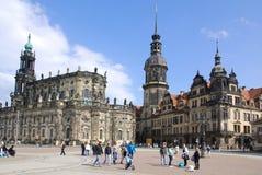 The Hofkirche Stock Photography