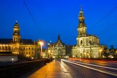 The Hofkirche in Dresden, Germany Stock Photo