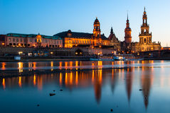 The Hofkirche in Dresden, Germany Royalty Free Stock Image