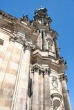 Hofkirche in Dresden, Sachsen, Deutschland stockbilder