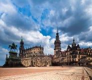 Hofkirche in Dresden Stock Image