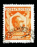Hofmaarschalk Pilsudski, serie, circa 1928 Royalty-vrije Stock Foto's
