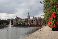 The Hofvijver in The Hague, Holland Stock Photos