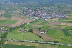 Hofweier, Ortenau-Antenne Stockbild