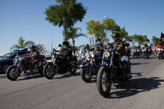 HOG Harley Davidson European Rally 2015 Royalty Free Stock Images