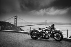 Hog over the bay Royalty Free Stock Photo