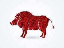 Hog pig Royalty Free Stock Images