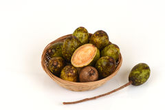 Hog Plum (Spondias pinnata (Lf) Kurz) wild fruits. Royalty Free Stock Photos