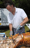 Hog Roast Stock Photos