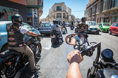 HOG World Ride 2015 Stock Photography