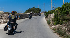HOG World Ride 2015 Royalty Free Stock Images