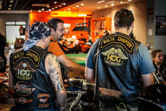 HOG World Ride 2015 Royalty Free Stock Image