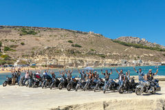 HOG World Ride 2015 Royalty Free Stock Photo