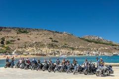 HOG World Ride 2015 Royalty Free Stock Photos