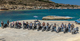 HOG World Ride 2015 Stock Images