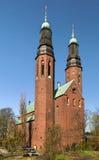 Hogalid kyrka, Stockholm Arkivbild