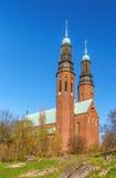 Hogalid kyrka, Stockholm Arkivfoto