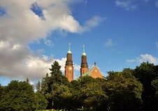 Hogalidskyrkan in Stockholm Stockfotos