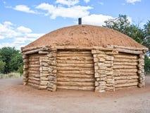 Hogan des amerikanischen Ureinwohners stockbild