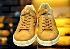 Hogan folâtre le système de chaussures en Italie Photographie stock