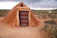 Hogan -Navajo native indian house. Hogan Navajo native indian house, USA stock photo
