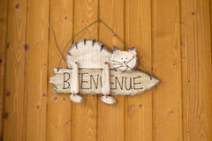 Hogar agradable en francés Foto de archivo libre de regalías
