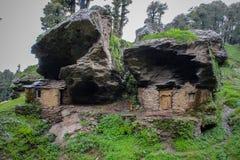 Hogar antiguo de la roca Foto de archivo