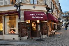 Hogar de Cafè Husaren de Haga Bullen fotografía de archivo libre de regalías