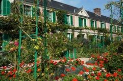 Hogar de Claude Monet Imagen de archivo libre de regalías