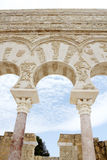Hogar de Ja'far en el al-Zahra de Madinat Imagenes de archivo
