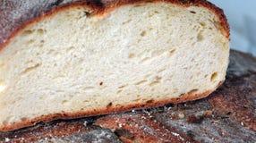 Hogar de la barra de pan para la venta en panadería italiana Foto de archivo