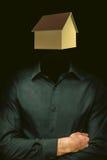 Hogar de la cabeza humana Imagen de archivo libre de regalías