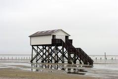 Hogar de la marea inferior Foto de archivo libre de regalías