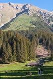 Hogar de la montaña Fotografía de archivo libre de regalías