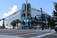 Hogar de la muestra del centro de Amway de Orlando de Orlando Magic Foto de archivo libre de regalías