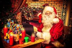 Hogar de la Navidad Imagenes de archivo