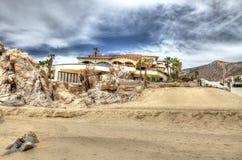 Hogar de la playa de Cabo Foto de archivo