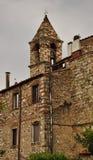 Hogar de piedra del vintage en Toscana, Italia Foto de archivo libre de regalías
