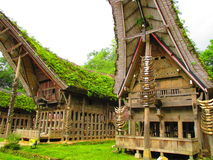 Hogar de Toraja Imagen de archivo