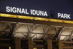 Hogar del Borussia Dortmund Imágenes de archivo libres de regalías