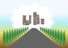 Hogar del camino Libre Illustration