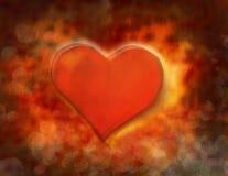 Hogar del día de tarjetas del día de San Valentín stock de ilustración